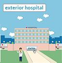 exterior del hospital